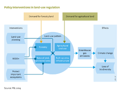 Policy interventions in land-use regulation