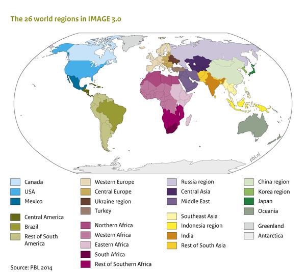 Region classification map IMAGE